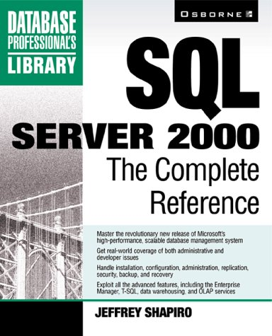 9780072125887: SQL Server 2000: The Complete Reference