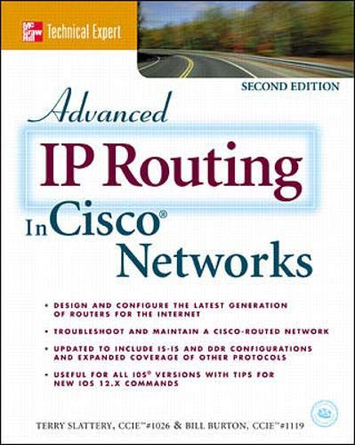 9780072125917: Advanced IP Routing in Cisco Networks (McGraw-Hill Technical Expert)