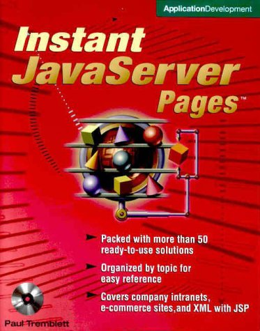 9780072126013: Instant JavaServer Pages (Book/CD-ROM Package)