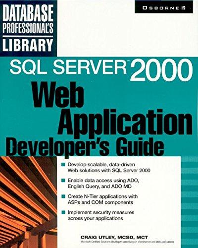 9780072126198: SQL Server 2000 Web Application Developer's Guide