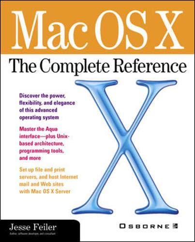 9780072126631: Mac OS X: The Complete Reference