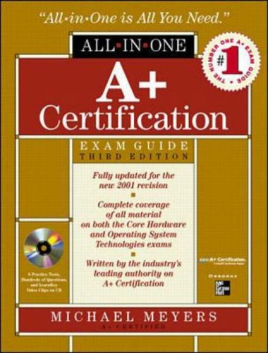 9780072126792: A+ All-In-One Certification Exam Guide with CDROM