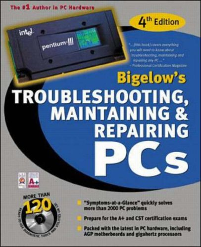 9780072126860: Troubleshooting, Maintaining, and Repairing PCs (with CD-ROM)