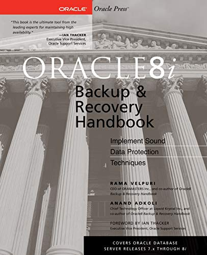 9780072127171: Oracle8i Backup & Recovery