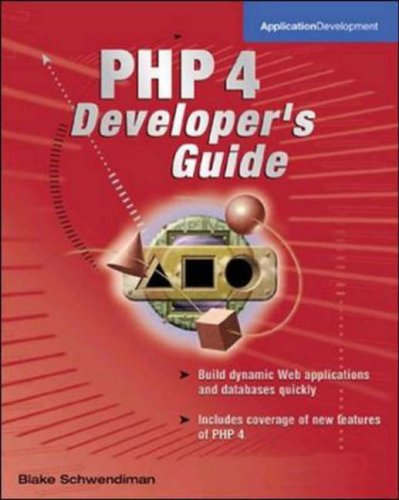 9780072127317: PHP 4 Developer's Guide (Application Development)