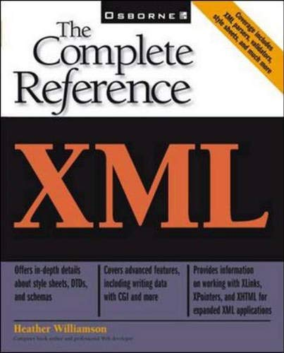 9780072127348: XML: The Complete Reference