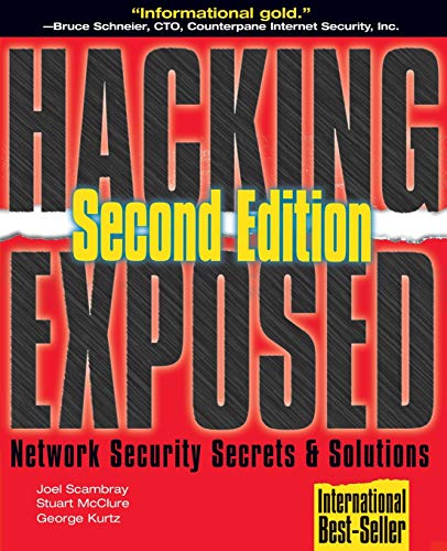 9780072127485: Hacking Exposed: Network Security Secrets & Solutions: Network Security Secrets and Solutions