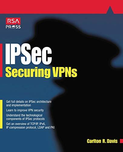 9780072127577: Ipsec: Securing Vpns