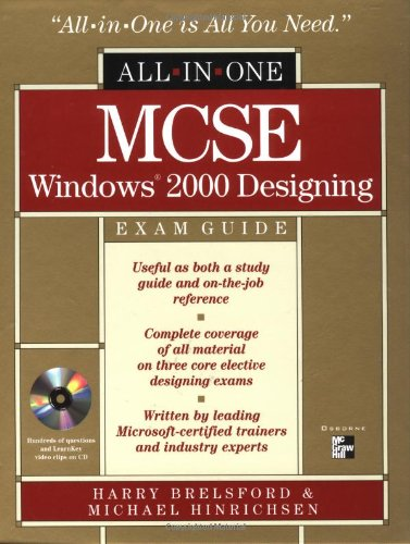 9780072129366: MCSE Windows 2000 Designing All-in-One Exam Guide