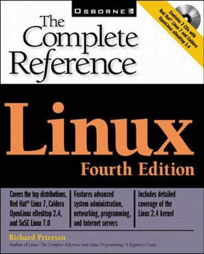 9780072129403: Linux: The Complete Reference