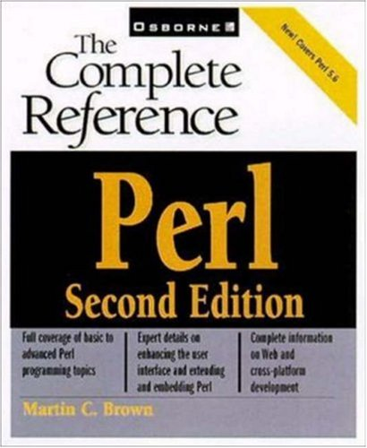 9780072129502: Perl: The Complete Reference