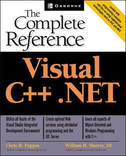 9780072129588: Visual C++(r).NET: The Complete Reference