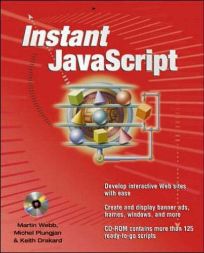 9780072129946: Instant JavaScript (Application Development)