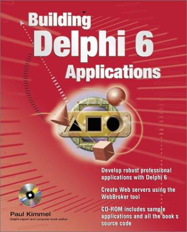 9780072129953: Building Delphi 6 Applications