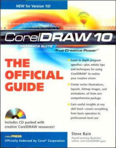 9780072130140: CorelDRAW(r) 10: The Official Guide