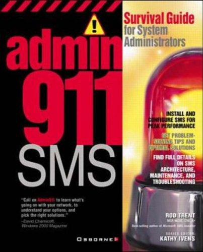 9780072130225: Admin911: SMS (Admin911 Series)