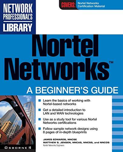 9780072130898: Nortel Networks: A Beginner's Guide
