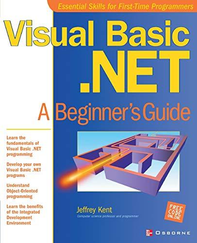 9780072131208: Visual Basic.Net: A Beginner's Guide