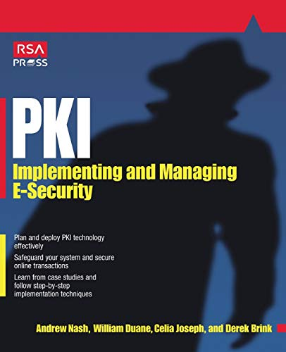 9780072131239: Pki: Implementing & Managing E-Security: Implementing and Managing E-security (RSA Press)
