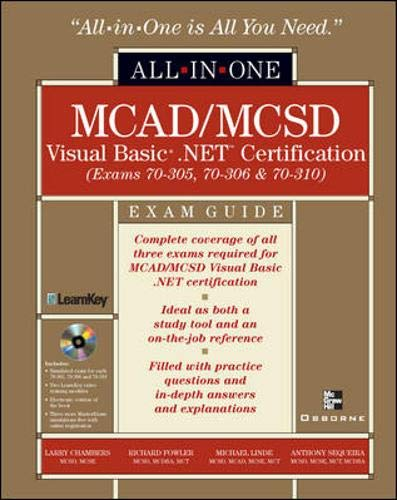 MCAD/MCSD Visual Basic .NET Certification All-in-One Exam: Larry Chambers, Richard