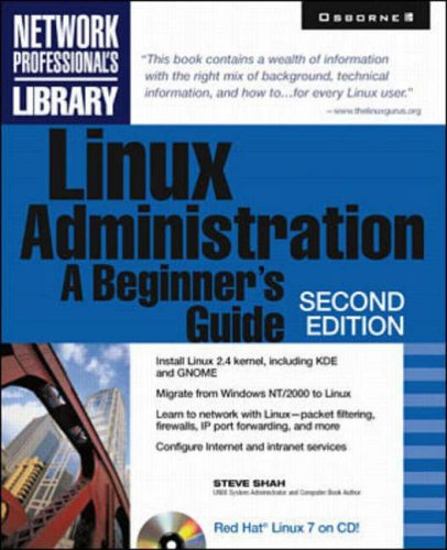 9780072131369: Linux Administration: A Beginner's Guide (Network Professional's Library)