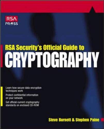 9780072131390: RSA Security's Official Guide to Cryptography