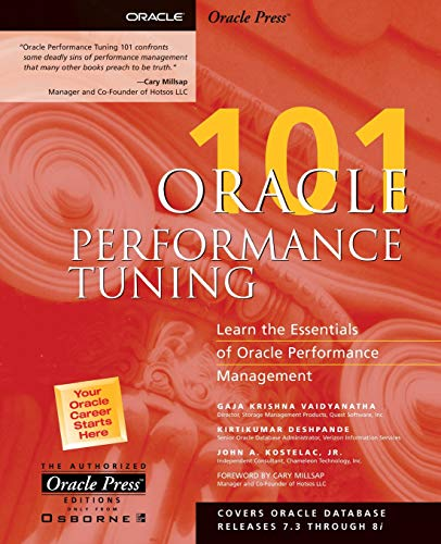 9780072131451: Oracle Performance Tuning 101 (Oracle Press 101)