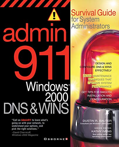 9780072131543: Admin911: Windows 2000 DNS & WINS