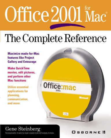 9780072131680: Office 2001 for Mac: The Complete Reference (Osborne Complete Reference Series)