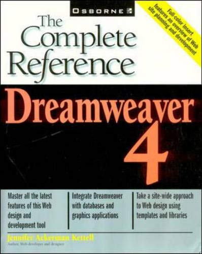 9780072131710: Dreamweaver 4: The Complete Reference