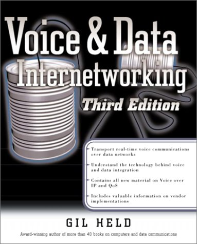 9780072131833: Voice and Data Internetworking (Standards & Protocols)