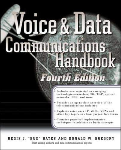 9780072131888: Voice & Data Communications Handbook (Standards & Protocols)