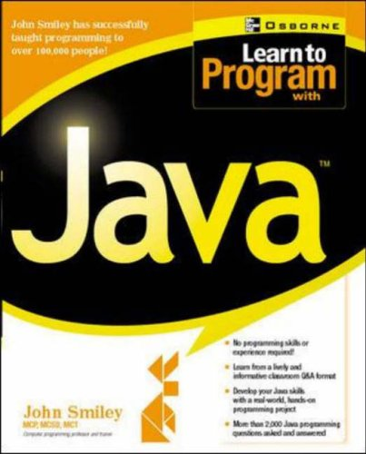 9780072131895: Learn to Program with Java