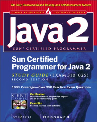 9780072132083: Sun Certified Programmer for Java 2 Study Guide (Exam 310-025)