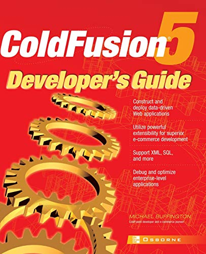 9780072132250: ColdFusion 5� Developer's Guide