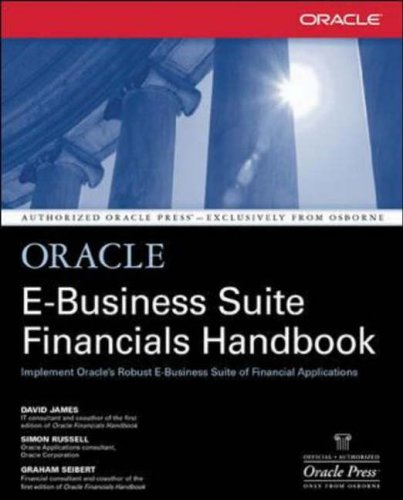 9780072132304: Oracle E-Business Suite Financials Handbook