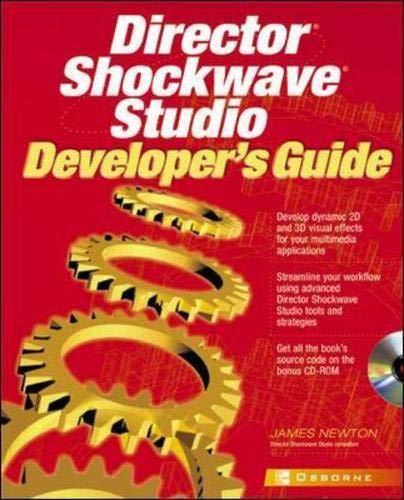9780072132656: Director Shockwave Studio Developer's Guide