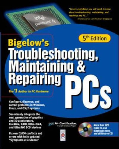 9780072132724: Troubleshooting, Maintaining & Repairing PCs with CDROM