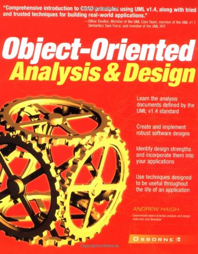 9780072133141: Object-oriented Analysis and Design (Application Development)