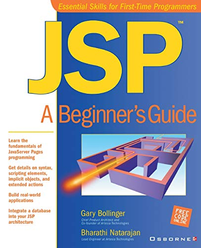 9780072133196: JSP: A Beginner's Guide