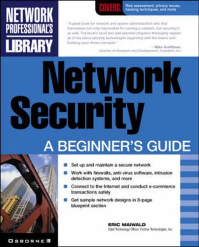 9780072133240: Network Security: A Beginner's Guide (Network Professional's Library)