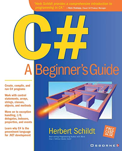 9780072133295: C#: A Beginners Guide