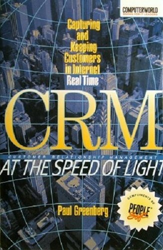 9780072133370: CRM : At The Speed Of Light