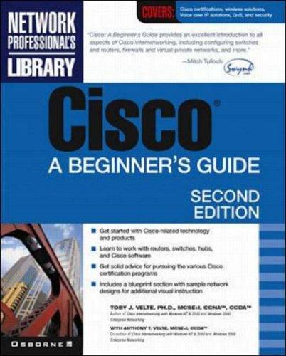9780072133394: Cisco: A Beginner's Guide, 2/e