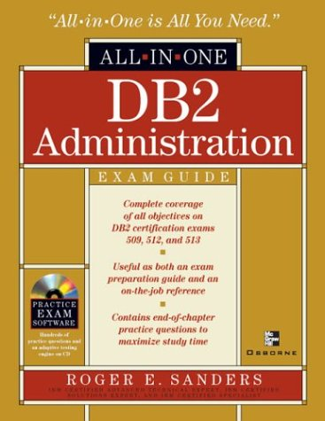 9780072133752: DB2 Administration All-in-One Exam Guide