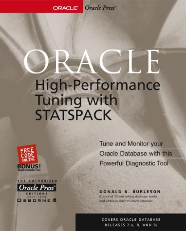 9780072133783: Oracle High-Performance Tuning with STATSPACK
