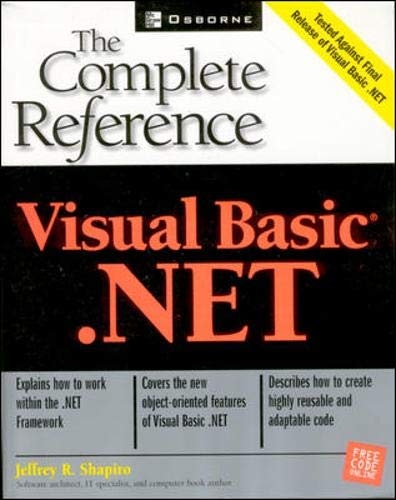 9780072133813: Visual Basic(r).NET: The Complete Reference