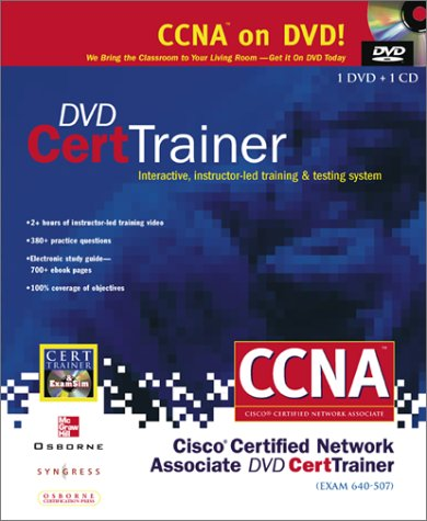 9780072134773: Dvd Cert Trainer: Exam 640-507 : Interactive, Instructor-Led Training & Testing System