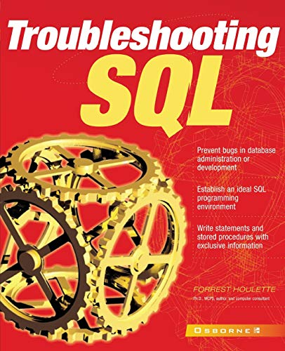 9780072134896: Troubleshooting SQL (Application Development)