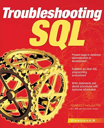 9780072134896: Troubleshooting SQL